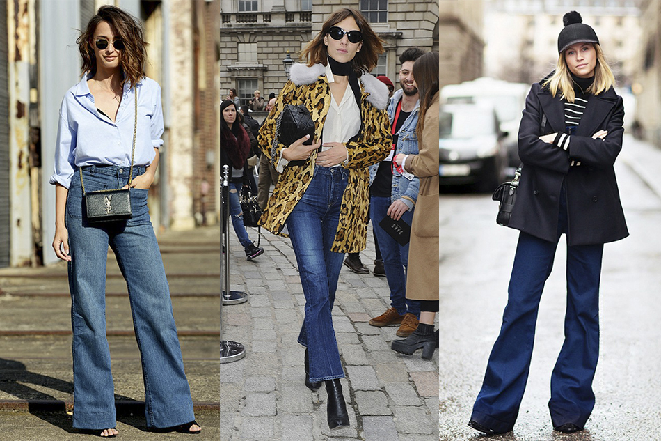 flared_jeans_street_style - Colour Me Classic How To Wear Flared Jeans